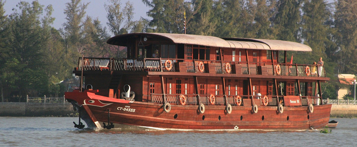 Le Cochinchine Cruise 7 days Saigon - Siem Reap