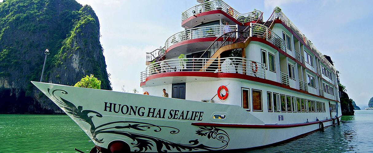 Fr-Huong Hai Sealife Cruise 2 days/ 1 night