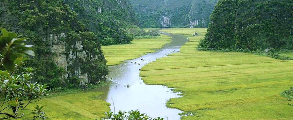 Mai Chau - Ninh Binh Biking 4 days