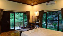 Deluxe room + Deluxe villa