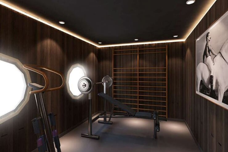 gym-room-on-cruise