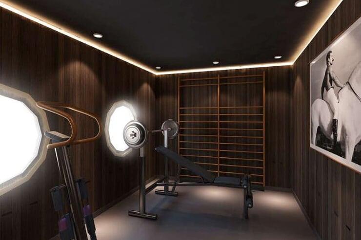 gym-room-on-cruise