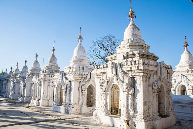 kuthodaw-pagoda-yangon-bagan-pindaya-inle-6-days