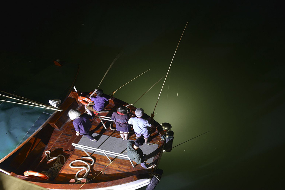 night-squid-fishing