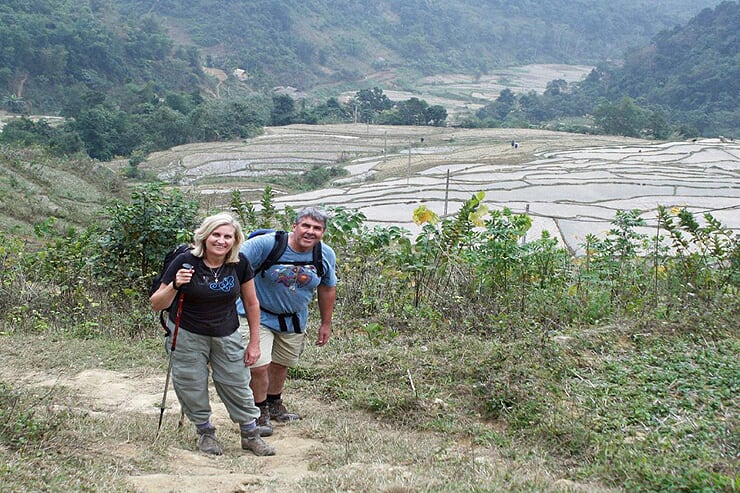 trekking-to-nua-village