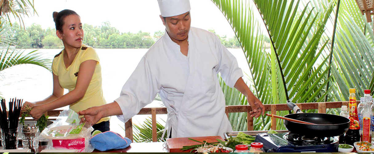 Mekong tour with cooking class 3 days