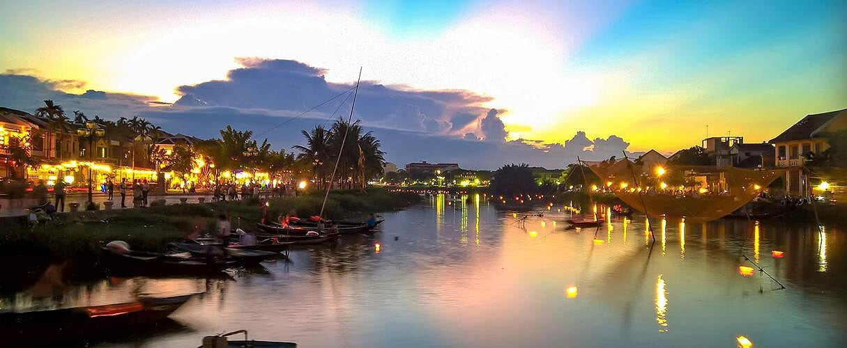 Thu Bon River sunset boat trip
