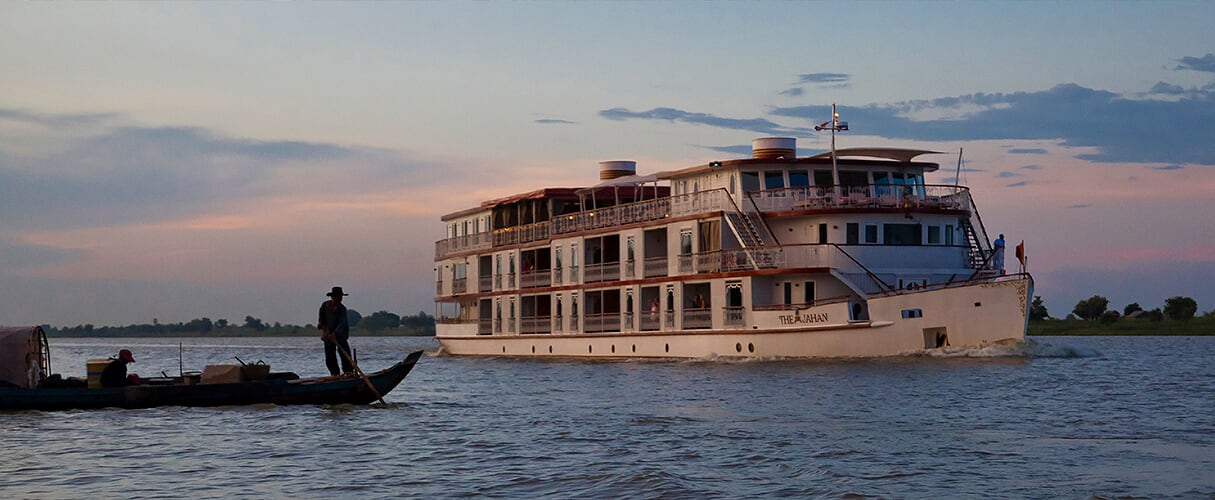 Jahan Cruise 8 days Saigon - Siem Reap (Jan - Mid Sep)