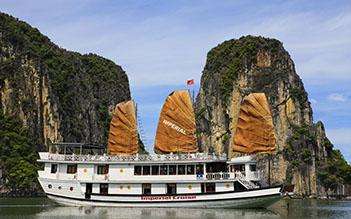 Halong Imperial Legend Cruise 2 days/ 1 night