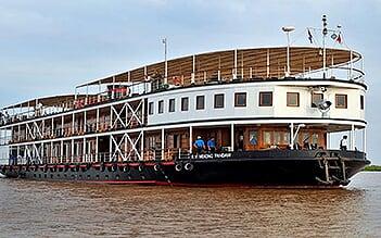 Jayavarman Cruise 5 days Siem Reap - Phnom Penh (Mid Sep - Dec)