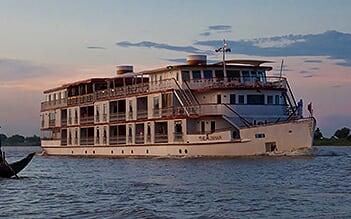 Jahan Cruise 5 days Siem Reap - Phnom Penh (Mid Sep - Dec)