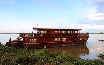 Jayavarman Cruise 8 days Saigon - Siem Reap (Jan - Mid Sep)