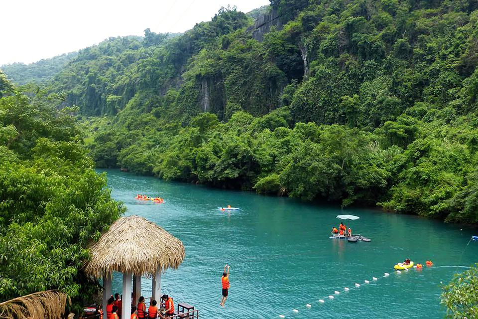 Discover Phong Nha Cave - Dark Cave full day