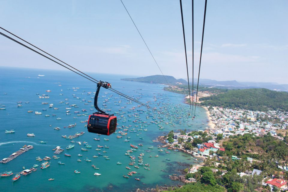 Phu Quoc full day with Cable Car & 3 islands