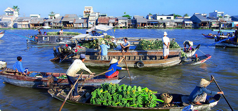 A Southern trip from Phu Quoc to Saigon via Mekong Delta