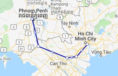 Aqua Cruise 3 nights Phnom Penh - Saigon
