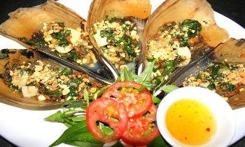 Bien Mai scallop-a must-try dish when visiting Phu Quoc