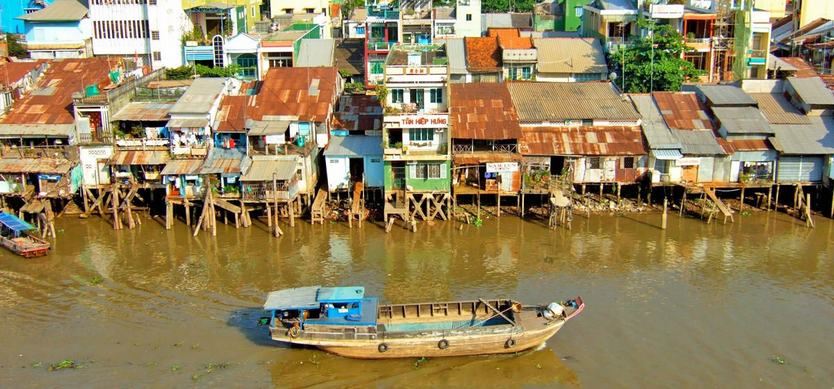 Mekong Delta planning for impact from climate change
