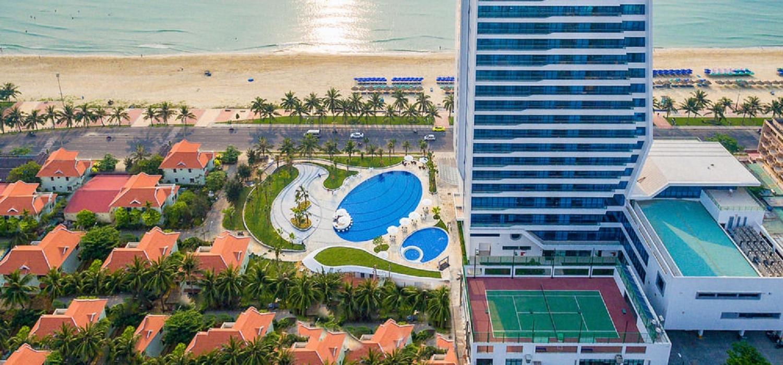 Opening soon the first 5-star hotel on My Khe Beach - Da Nang