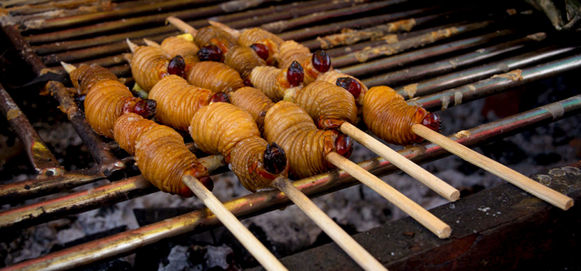 Grilled Larva