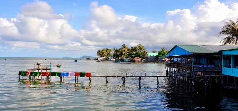 The most famous fishing village in Phu Quoc named Ham Ninh