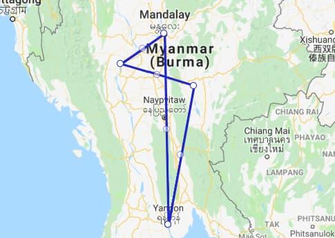 Highlights of Burma 10 days