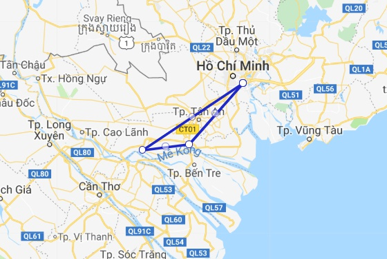 Mekong Emotion Cruise 2 days/ 1 night My Tho - Cai Be