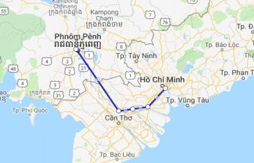 Jahan Cruise 4 days Phnom Penh - Saigon