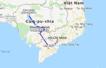 Jahan Cruise 8 days Siem Reap - Saigon (Mid Sep – Dec)