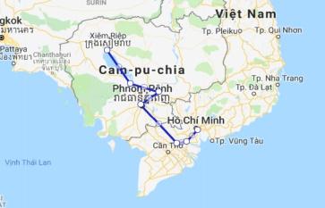 Jahan Cruise 8 days Saigon - Siem Reap (Mid Sep – Dec)