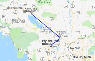 Jayavarman Cruise 5 days Phnom Penh - Siem Reap (Jan - Mid Sep)