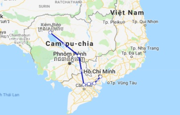 Jayavarman Cruise 8 days Siem Reap - Saigon (Jan - Mid Sep)