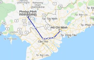 Jahan Cruise 4 days Saigon - Phnom Penh
