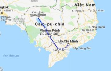 Jahan Cruise 8 days Siem Reap - Saigon (Jan - Mid Sep)