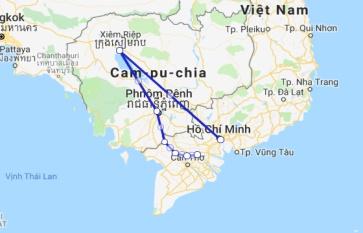 Le Cochinchine Cruise 7 days Siem Reap - Saigon