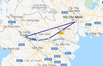 Mien Tay Sampan 3 days Long Xuyen - Sa Dec - Cai Be