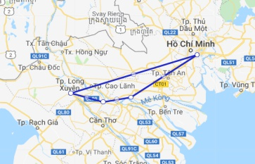 Mien Tay Sampan 3 days Cai Be - Sa Dec - Long Xuyen