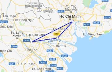 Mien Tay Sampan 3 days Sa Dec - Cai Be - My Tho