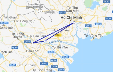 Mien Tay Sampan 2 days/ 1 night Cai Be - Sa Dec
