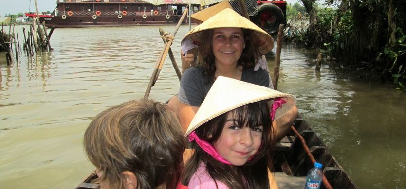 Best ways to explore Mekong Delta with your kids