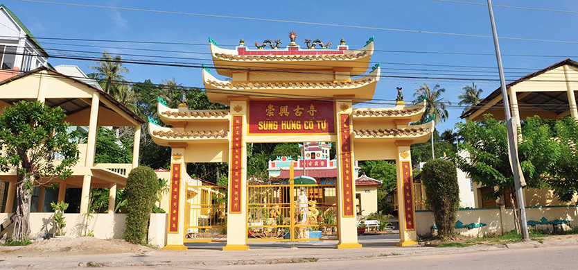 One of the most sacred places in Phu Quoc - Sung Hung Pagoda