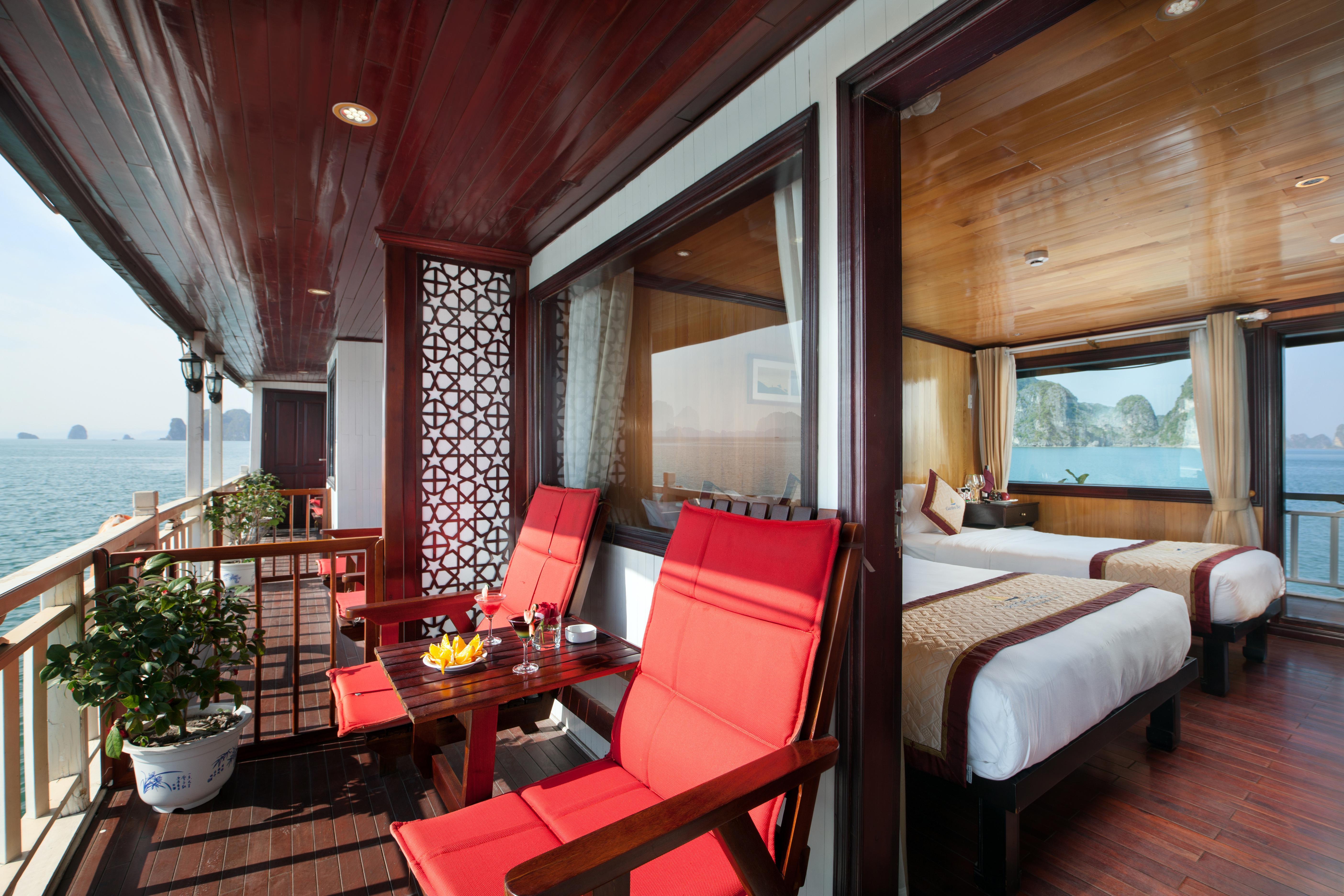 Balcony Suite cabin