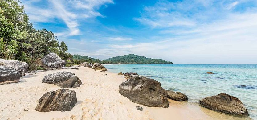 Immerse in the pristine beauty of Sao Beach