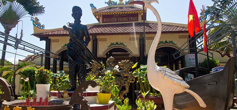 Visit The Historical Site in Phu Quoc-Nguyen Trung Truc Monument