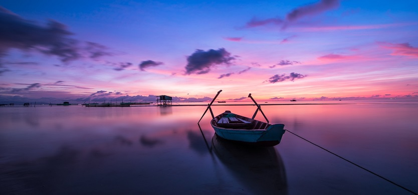 Wonderful places for admire imposing sunset in Phu Quoc island