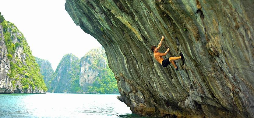 The best places to conquer limestone mountains near Halong Bay