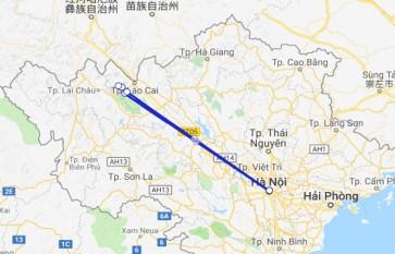 Suoi Hoa - Matra - Ban Khoang - Ta Giang Phing 2D3N by train