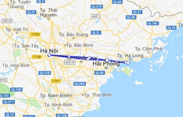 Halong group day trip from Hanoi