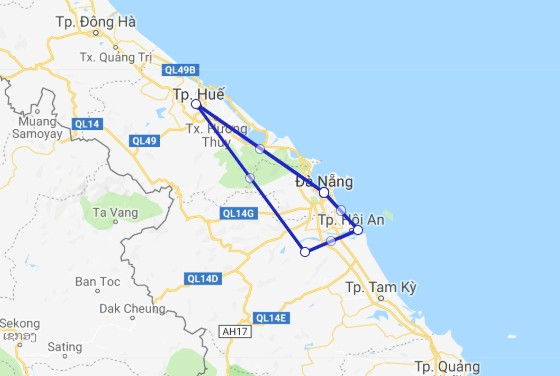 Central Vietnam Private Package from Da Nang