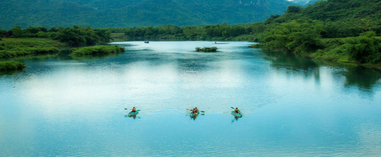 Phong Nha Village with Kayaking